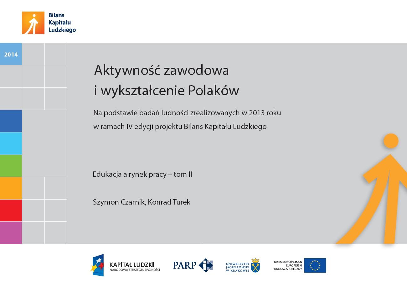 Aktywność zawodowa i wykształcenie Polaków