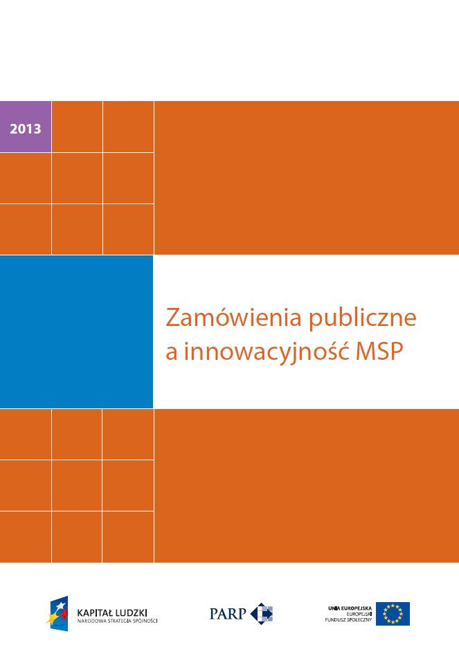 Zamówienia publiczne a innowacyjność MSP