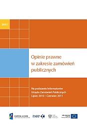 Opinie prawne w zakresie zamówień publicznych - 2011