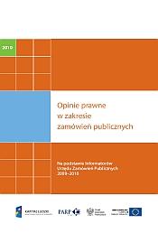 Opinie prawne w zakresie zamówień publicznych - 2010