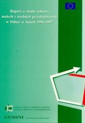 Raport o stanie sektora MSP w Polsce w latach 1996-1997