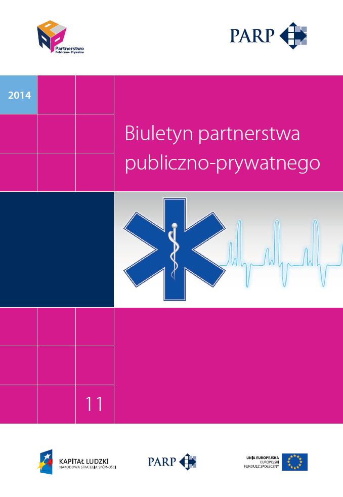 PPP w ochronie zdrowia (11 biuletyn PPP)