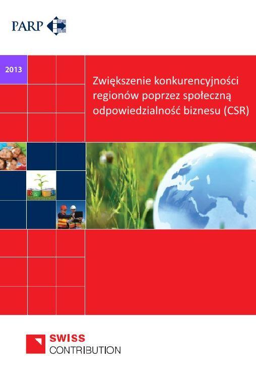 Zwiększenie konkurencyjności regionów poprzez społeczną odpowiedzialność biznesu (CSR)