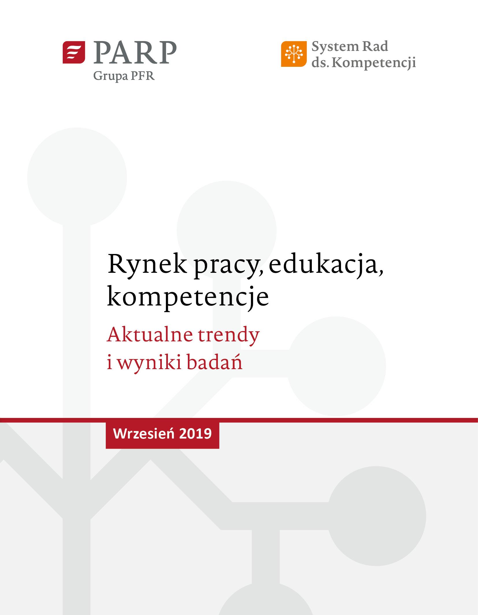 Rynek pracy, edukacja, kompetencje - wrzesień 2019